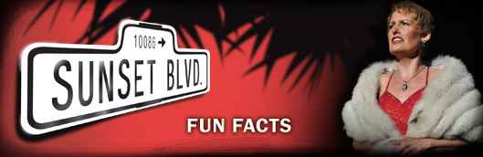 Sunset Boulevard Fun Facts