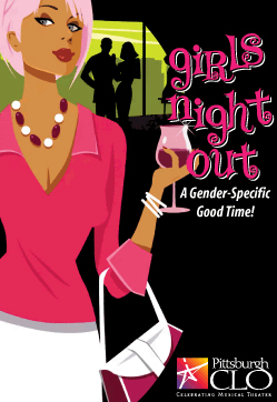 CLO Cabaret Girls Night Out logo