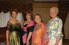 Linda Bucci, Coleen Travis, Norma Sobel and Maryann Boehm