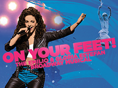 On Your Feet! logo