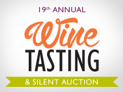 19th Annual Wine Tasting logo