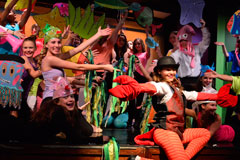 The cast of CLO Summer Camp's The LIttle Mermaid