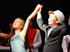 Students perform in the CLO Summer Camp High School Musical