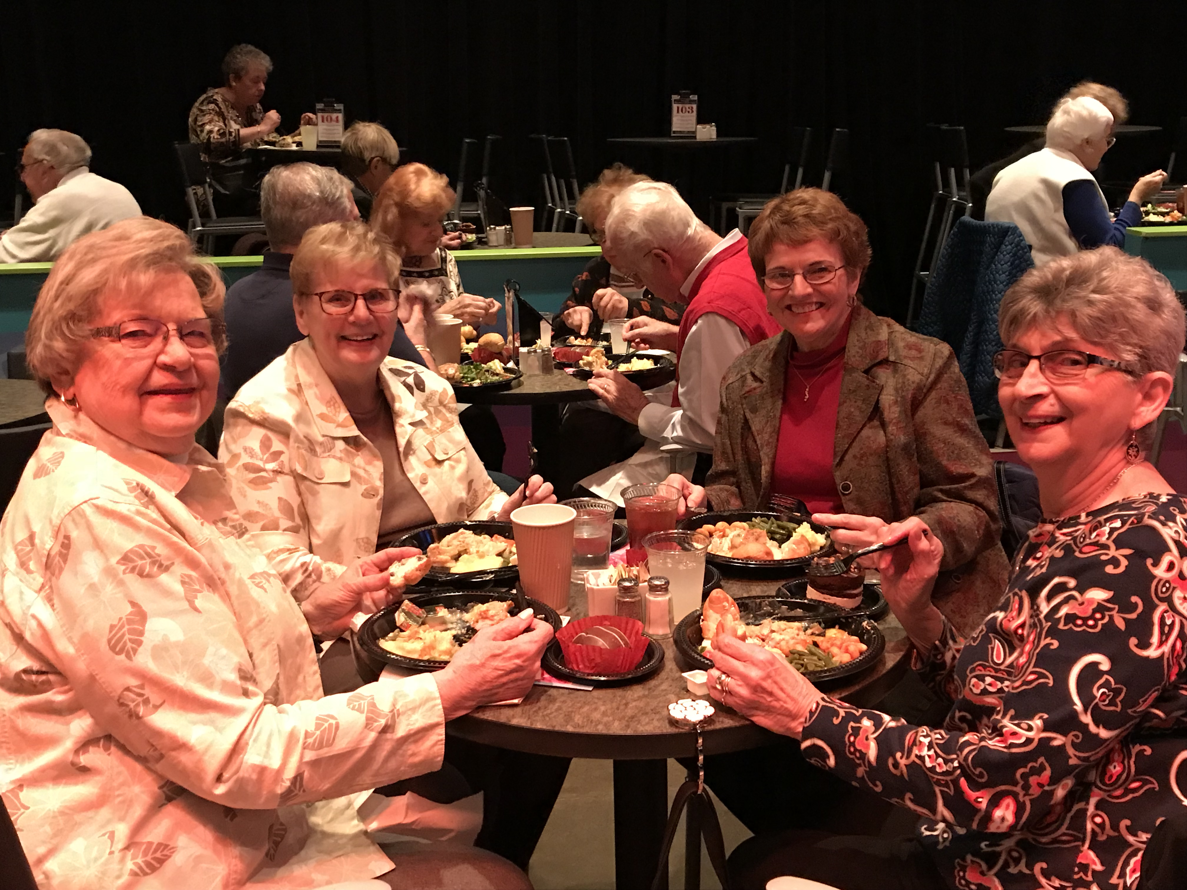 Red Hat Society at CLO Cabaret