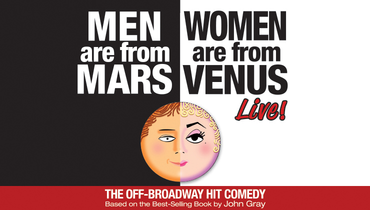 Men are from Mars - Women are from Venus Logo