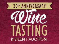20th Anniversary Wine Tasting logo