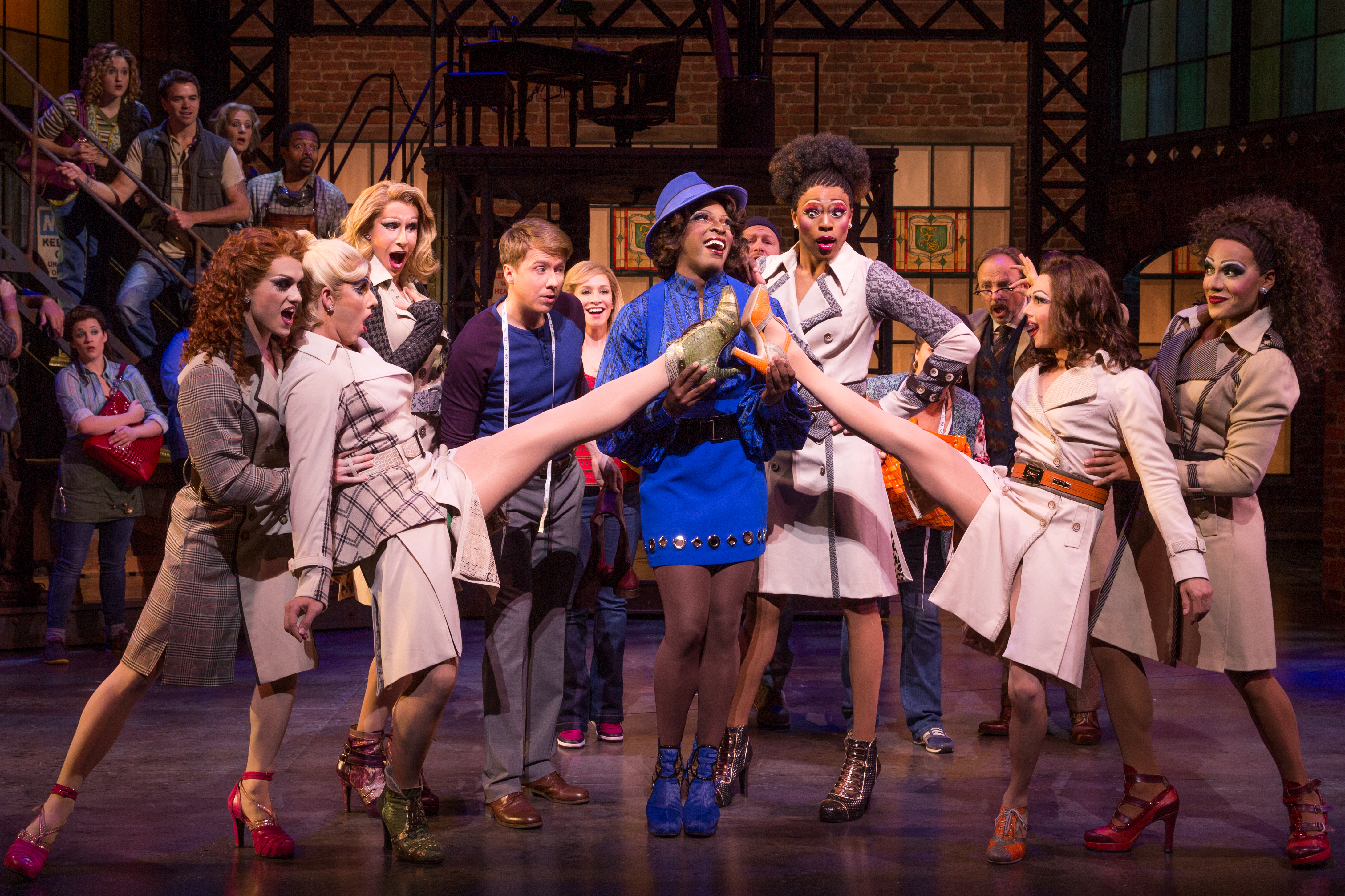 East Liberty native in Kinky Boots