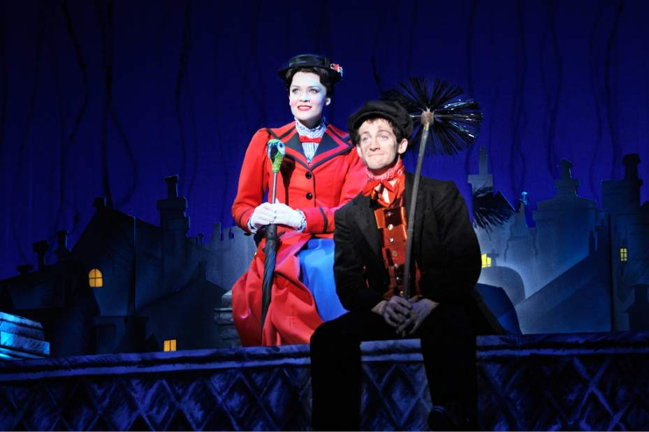 Mary Poppins comes the Benedum Center