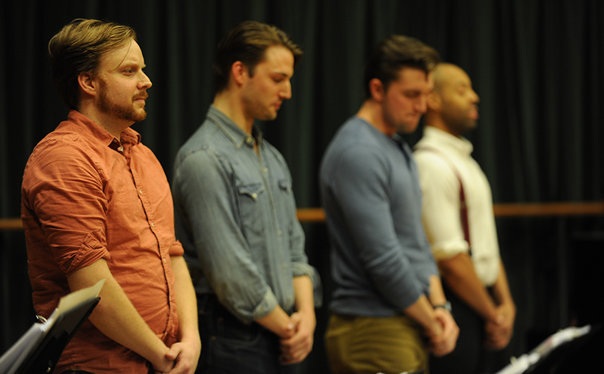 Michael R. Petyak, Kyle Decker, Christopher J. Essex, Chris Bell | Photo: Matt Polk