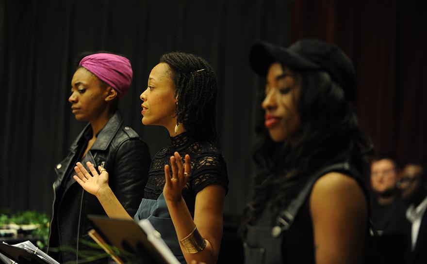 Gena Sims, Jillian Walker, Rayquila Janese Durham | Photo: Matt Polk