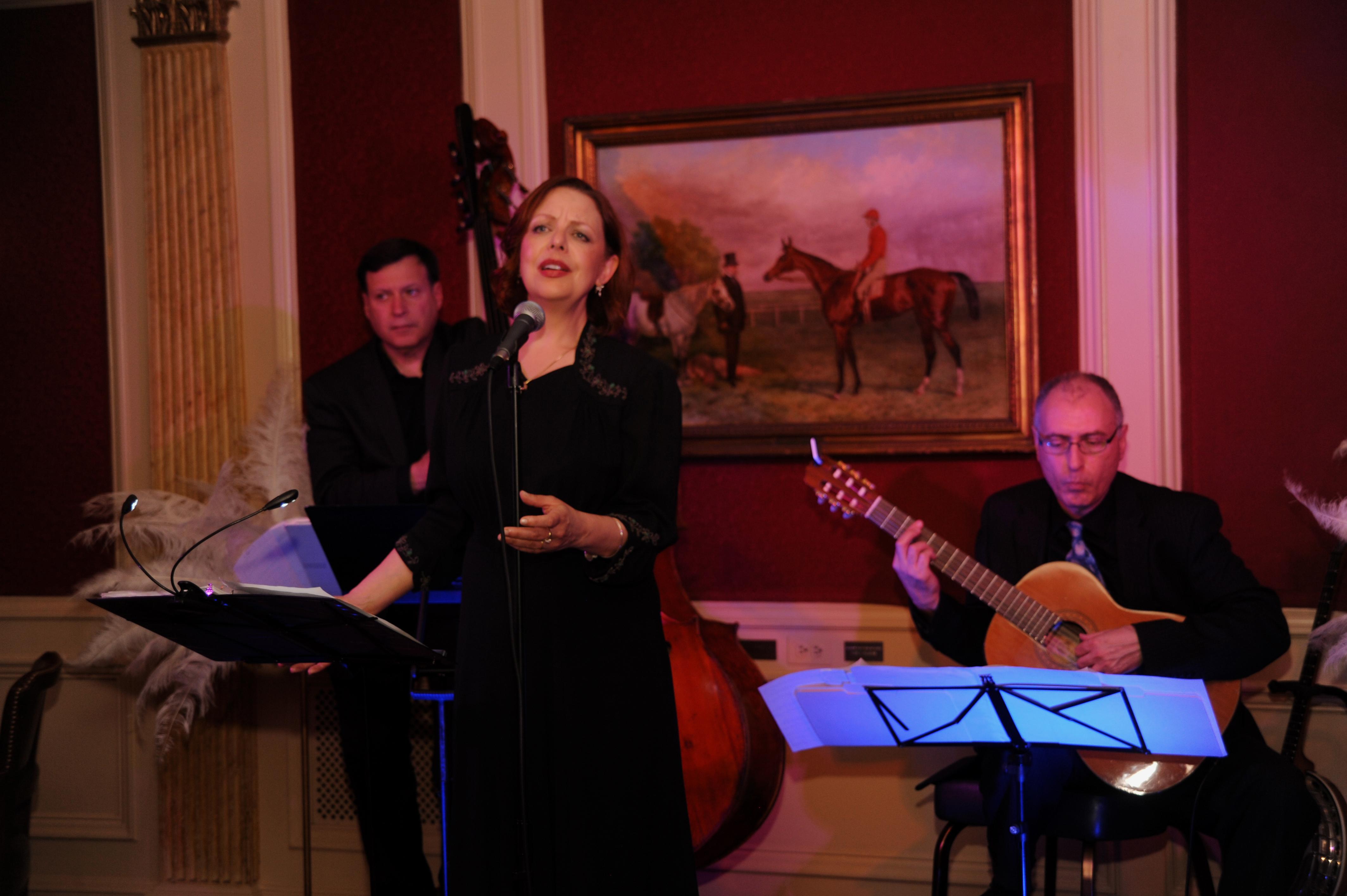 Jeff Mangone, Daphne Alderson, and John Marcinizyn
