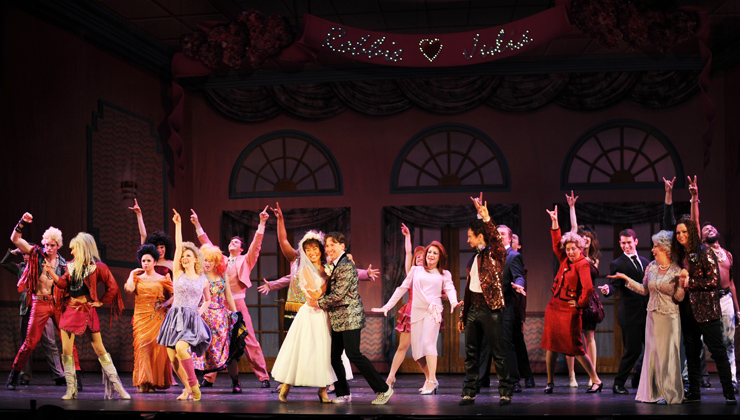 Cast Of Pittsburgh CLOs THE WEDDING SINGER