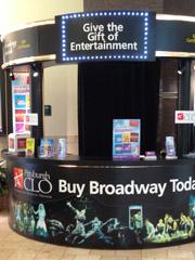 CLO mall kiosk