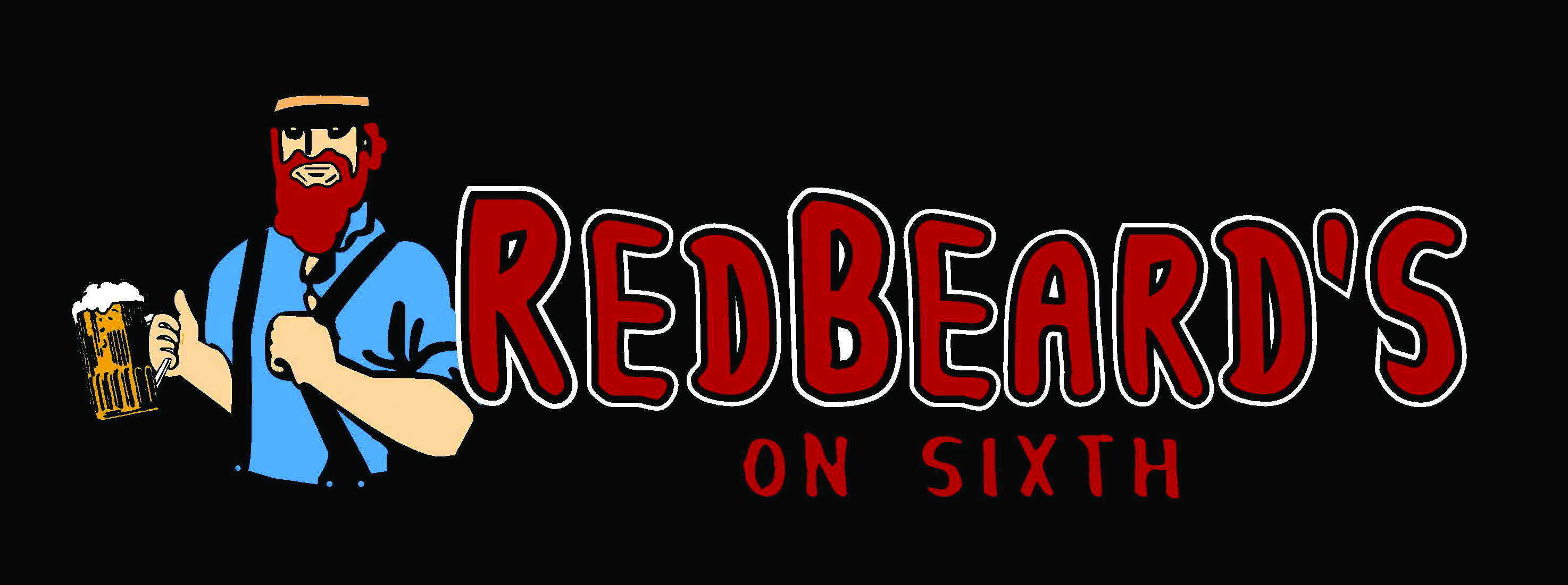 Redbeard's on Sixth logo