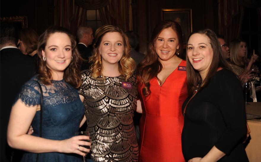 Ambassadors Jillian Lake, Danielle Hudson, Shannon O'Halloran and Alyson Joyce