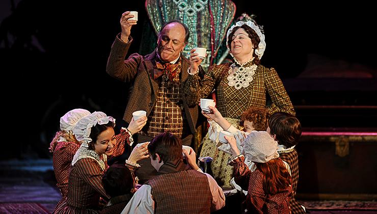 A Christmas Carol Cast.A Musical Christmas Carol