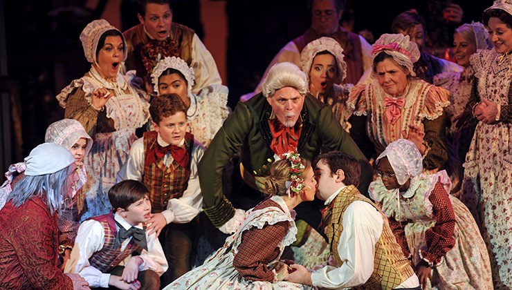 Christmas In Mississippi Cast.A Musical Christmas Carol
