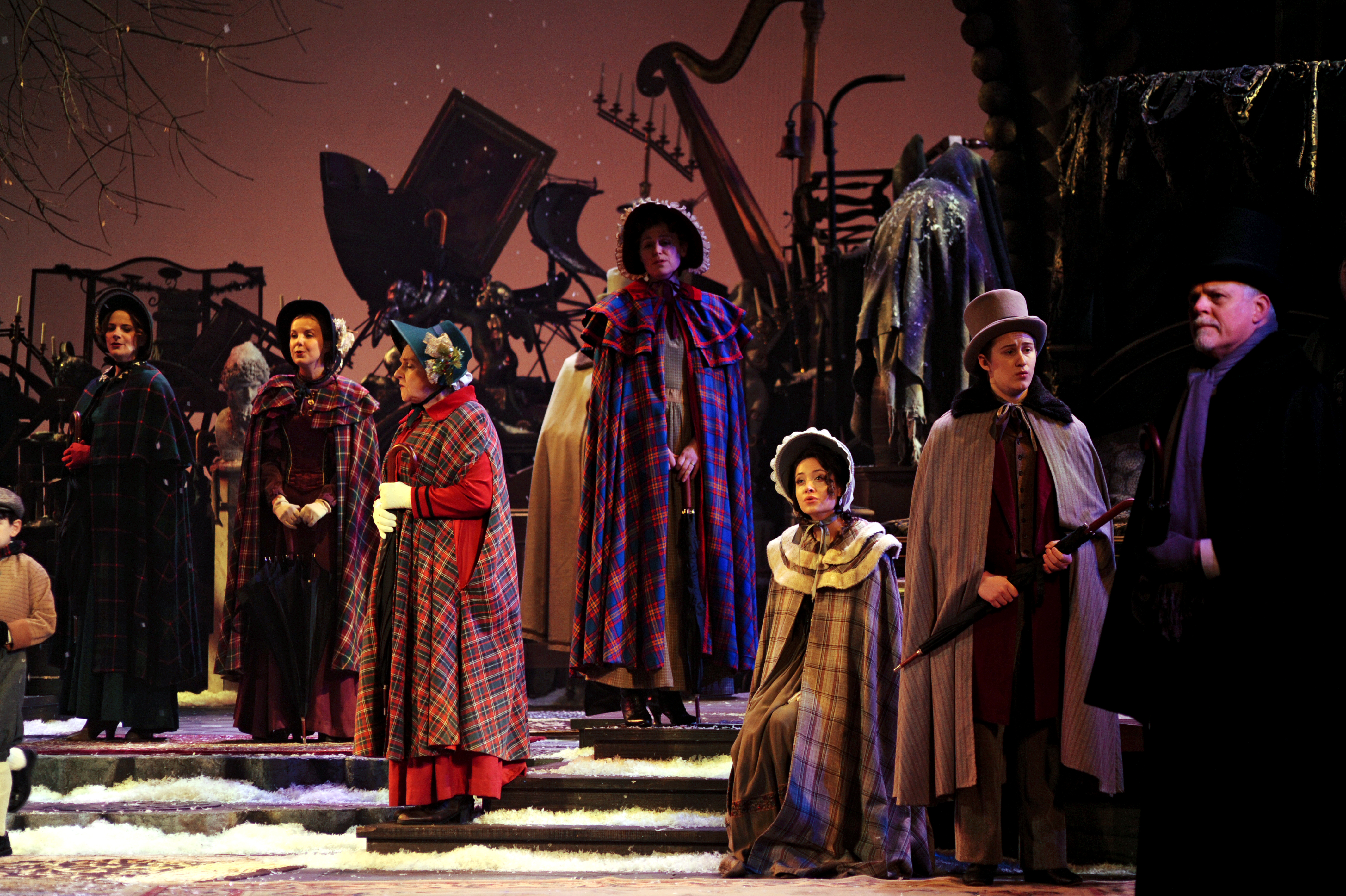 cast of pittsburgh clos a musical christmas carol - Cast Of Christmas Carol