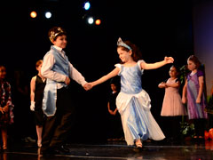 Students perform in the CLO Summer Camp Cinderella