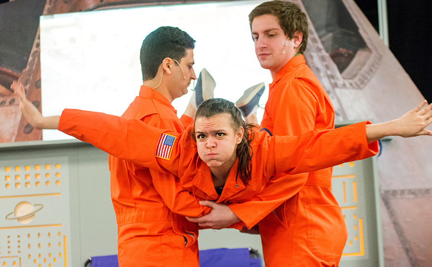 Gabe DeRose, Sarah DiFiore & Daniel Keitel | Photo: Archie Carpenter