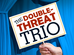 DOUBLE-THREAT TRIO logo