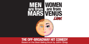 Men are from Mars Women are from Venus Logo