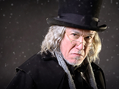 Patrick Page as Scrooge
