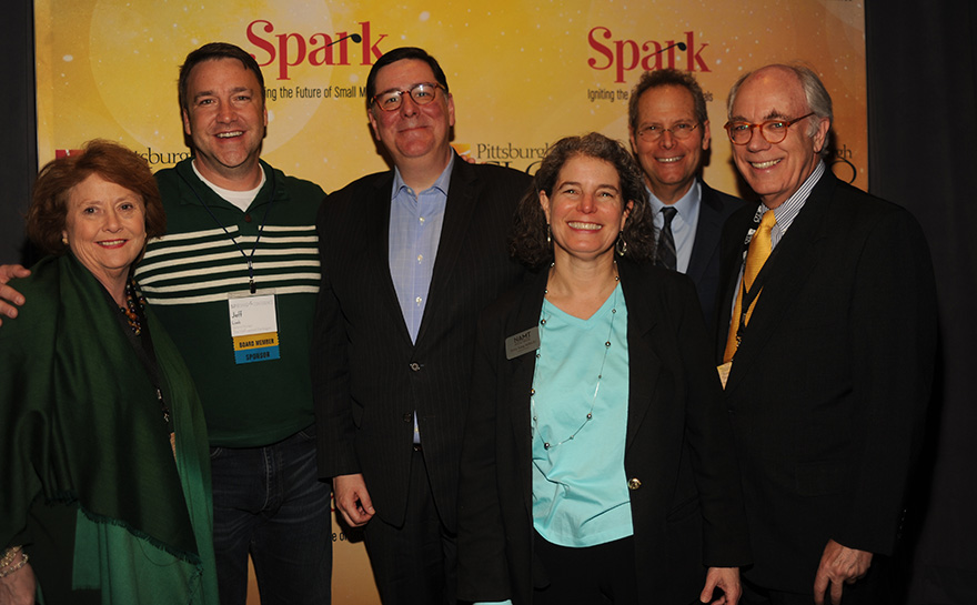 Helen Hanna Casey, Jeff Loeb, Mayor William Peduto, Betsy King Militello, Van Kaplan, Daniel I. Booker | Photo: Matt Polk