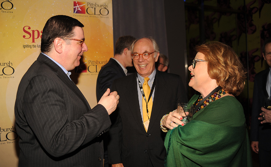 Mayor William Peduto, Daniel I. Booker, Helen Hanna Casey | Photo: Matt Polk