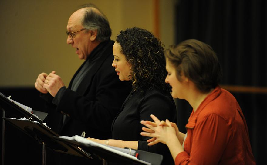 Jeffrey Howell, Shelley Thomas-Harts, Julianne Avolio | Photo: Matt Polk