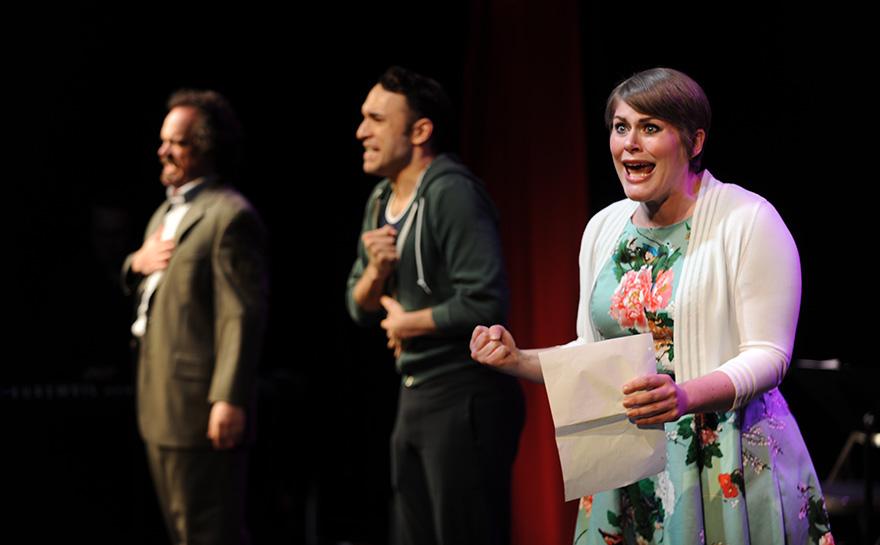 J. Alex Noble, Jerreme Rodriguez, Drew Leigh Williams | Photo: Matt Polk