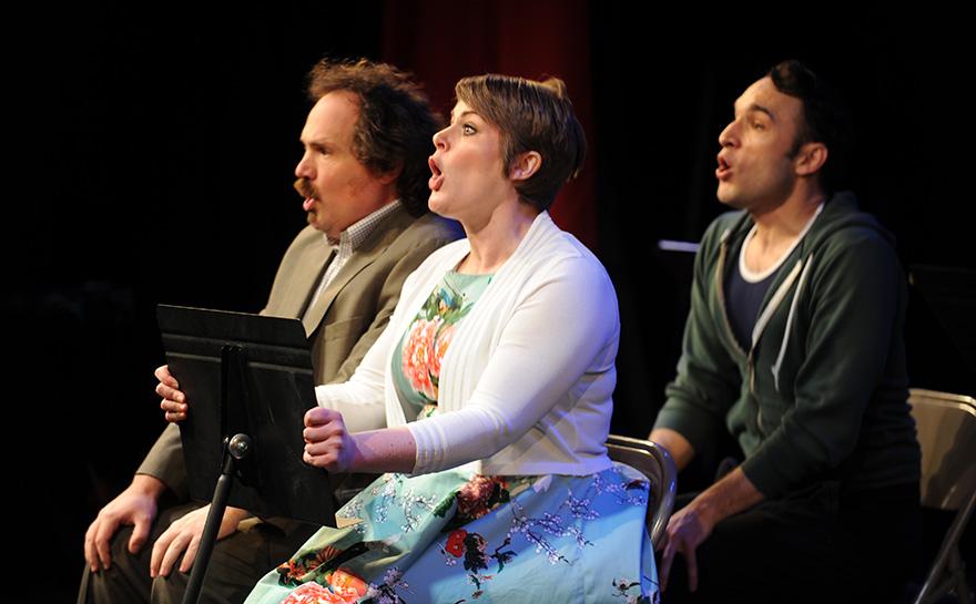 J. Alex Noble, Drew Leigh Williams, Jerreme Rodriguez | Photo: Matt Polk
