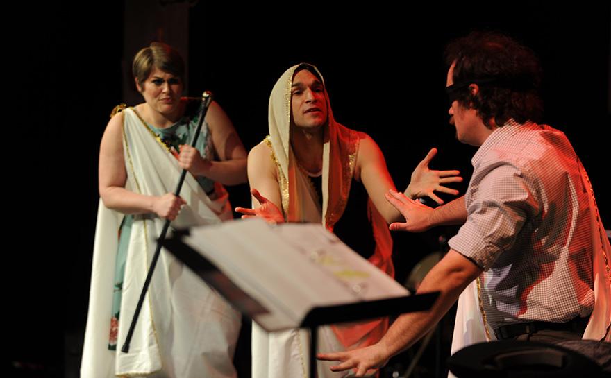 Drew Leigh Williams, Jerreme Rodriguez, J. Alex Noble | Photo: Matt Polk