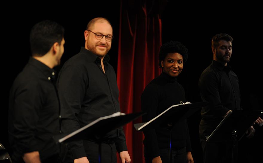 Gabe DeRose, Daniel Pivovar, Rachel Parker, Brett Cuddy | Photo: Matt Polk