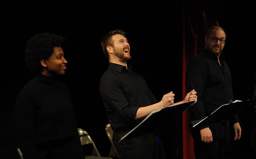 Rachel Parker, Brett Cuddy, Daniel Pivovar | Photo: Matt Polk