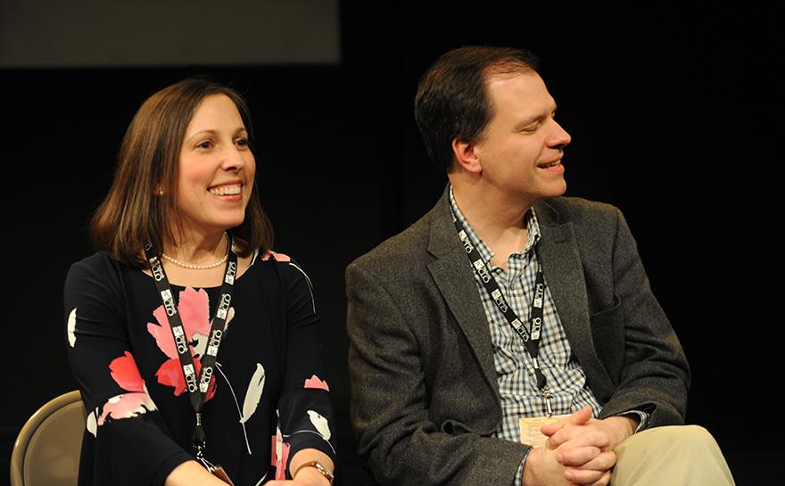 Christina McCann, Joseph Domencic | Photo: Matt Polk