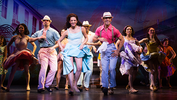 Cast of ON YOUR FEET!