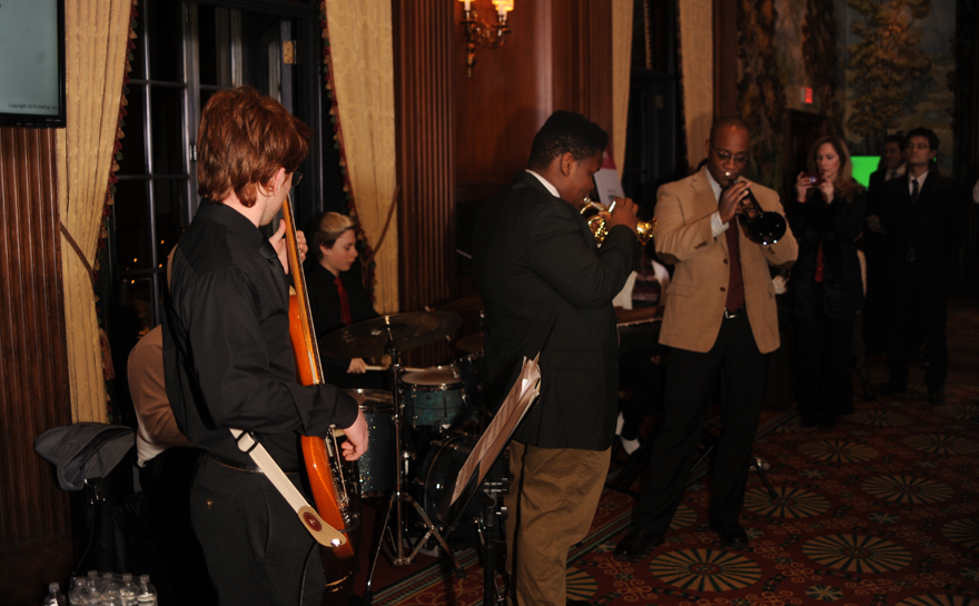 Students from the Center of Life Band